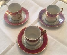 Vintage espresso cups/porcelain cups/small cups by VintageSowles on Etsy
