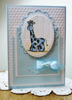 SC358 Baby boy by Holstein - Cards and Paper Crafts at Splitcoaststampers