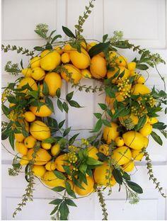 Holiday Decor, Zesty Lemon Edition - HomeDecorDesigns.com