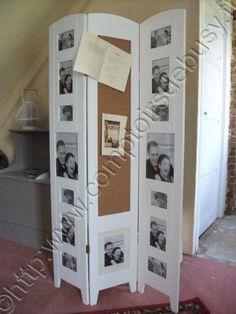 Paravent cadre photos Expo, Decoration, Lockers, Locker Storage, Boutique, Cabinet, Furniture, Home Decor, Privacy Screens