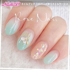 Amazing Tips For The Best Summer Nails – NaiLovely Asian Nail Art, Asian Nails, Korean Nail Art, Pretty Nail Art, Cute Nail Art, Cute Nails, Stylish Nails, Trendy Nails, Hair And Nails