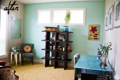 Before & After Home Office Reveal using Sherwin Williams Chip It!...and a $1200 GIVEAWAY!