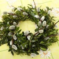 OZDOBY WIELKANOCNE z roślin i kwiatów