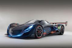 Concept Sports Cars | ... SCI FI MEGAVERSE: THE MAZDA FURAI AND HYUNDAI I-FLOW CONCEPT CARS