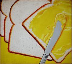 James Rosenquist, White Bread, 1964 Oil on canvas, x Cultura Pop, American Consumerism, Eduardo Paolozzi, Lino Ventura, James Rosenquist, Pop Art Movement, James White, Art Students League, National Gallery Of Art