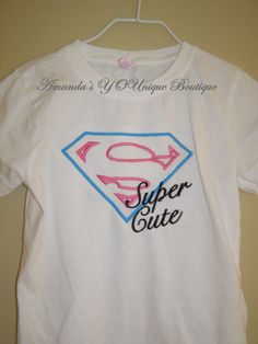 SUPER CUTE Embroidered Shirt by AYBoutique on Etsy, $22.00