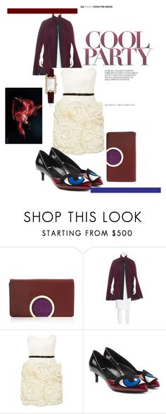 """Cool it Down"" by scope-stilettos ❤ liked on Polyvore featuring Chloé, Public School, Milly, Pierre Hardy, Hermès, Børn and statementshoes"