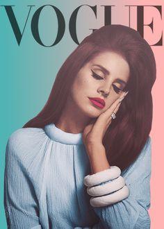 Lana del Rey. Via: diverse styles