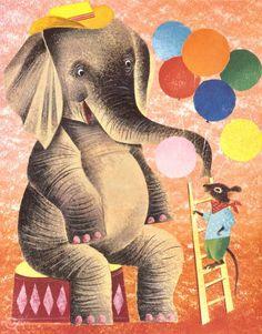 circus animals, Leonard Weisgard