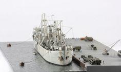 Trumpeter 1/700 Liberty Ship: Image