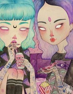 art, grunge, and pizza 圖片