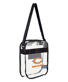 For clearing da game entrance - Chicago Bears Clear Crossbody Bag  #zulilyfinds