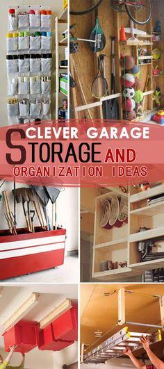 Clever Garage Storage and Organization Ideas!