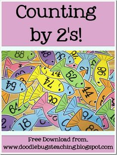 Counting by 2's printables