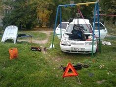 Aneb jak opravit auto ;)