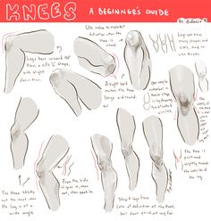 knees ✤ || CHARACTER DESIGN REFERENCES | キャラクターデザイン • Find more at https://www.facebook.com/CharacterDesignReferences if you're looking for: #lineart #art #character #design #illustration #expressions #best #animation #drawing #archive #library #reference #anatomy #traditional #sketch #development #artist #pose #settei #gestures #how #to #tutorial #comics #conceptart #modelsheet #cartoon || ✤