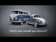 Vote for your all time favorite classic on http://www.fanwagen.com. Which one will it be? The T1 van or the Beetle? Cast your votes!