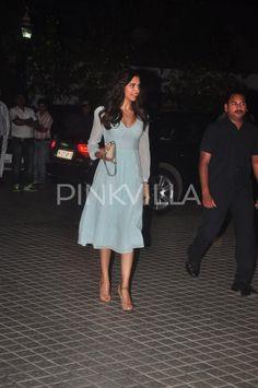 Deepika Padukone at Farah Khan's birthday bash   PINKVILLA