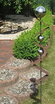 Superb Gartenstecker ST Rost Skulptur Rostdeko Edelrost Roststeelen Deko Garten Garten Rost Steele Gartenstecker