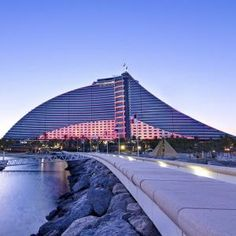 Jumeirah Beach Hotel Dubai Shaped Like A Wave This Magical And Enchanting Is Just