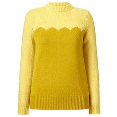Mohair Sweater Lemon