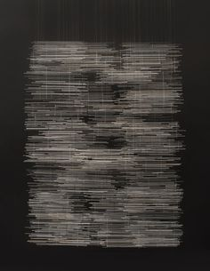 Harue Shimomoto | Dear (2014) | Glass on tapestry