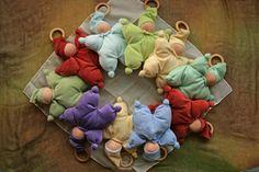 Waldorf doll for baby. por BERTYandMASHA en Etsy