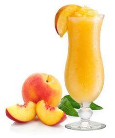 Peach Daiquiri Recipe:  1 peeled and sliced peach 1 tbsp lime juice 1 tsp powdered sugar 2 oz white rum  Combine peach, lime juice, sugar and rum in a blender; puree until smooth. Garnish with a peach wedge and serve immediately.