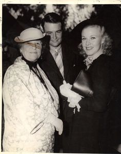 Ginger Rogers, Lew Ayres, and May Robson at a James Gleason party Hollywood Icons, Hollywood Actresses, Classic Hollywood, Old Hollywood, Actors & Actresses, Lew Ayres, A Fine Romance, Fred And Ginger, Fred Astaire