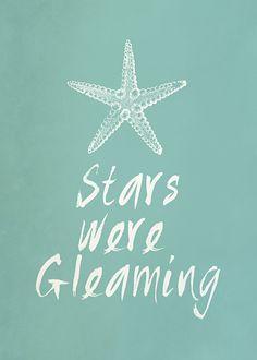 It Works For Bobbi!: Stars Were Gleaming Free Printable Word Art