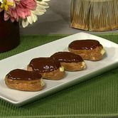 Carla Hall's Eclairs with Hazelnut Creme