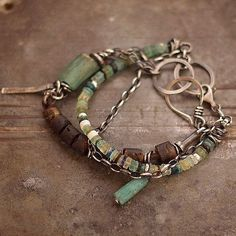 Hey, I found this really awesome Etsy listing at https://www.etsy.com/listing/197823558/set-handmade-bracelets-ancient-glass