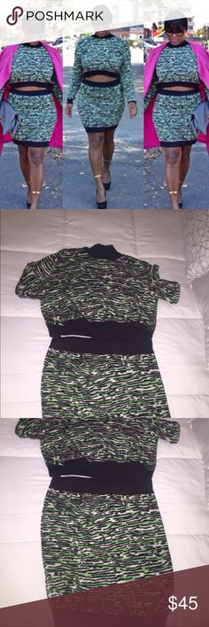 Sweater Shirt Set Good Condition. Can be purchased separately or together. ASOS Skirts Skirt Sets