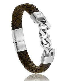 Bracelet Cerruti San remo marron http://www.bijoux-pour-homme.eu/bracelet-cerruti-san-remo-marron-p-19329.html