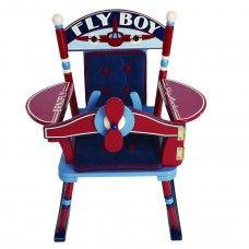 Rocker: Fly Boy Airplane Rocker