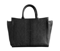 Python Print Day Bag Black