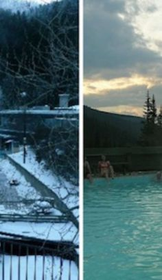 This winter, escape to the thermal warmth of the northern Rockies' hot springs