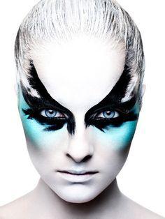 cirque du soleil bird makeup - Google Search