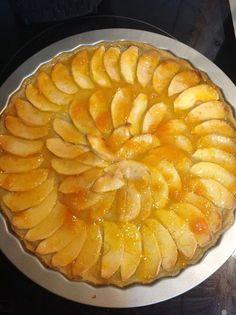 TARTA DE MANZANA SIN HUEVO Apple Recipes, Apple Pie, Pineapple, Eggs, Yummy Food, Diet, Cookies, Fruit, Desserts