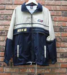 0521d90452 Vintage Nike Windbreaker and Pants Set Track Suit 90 s 80 s Retro Rare Men s  Large
