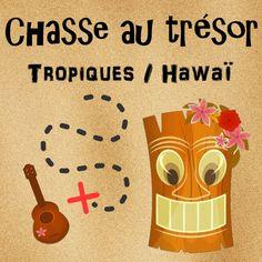 Chasse au trésor tropicale / Hawaï