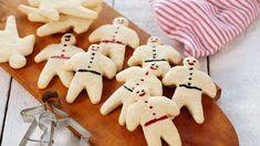 Hvite kakemenn (og damer) Christmas Baking, Christmas Cookies, Norwegian Christmas, Norwegian Food, Edible Gifts, Food Festival, Cookie Bars, All Things Christmas, Favorite Holiday