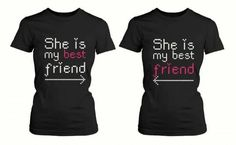 National Best Friend Day: 8 gift ideas for your best friend – Bestfriend Shirts … National Best Friend Day: 8 gift ideas for your best friend – Bestfriend Shirts – Ideas of Bestfriend Shirts – Matching Friendship Shirts for BFF Best Friend Matching Shirts, Best Friend T Shirts, Bff Shirts, Best Friend Outfits, Best Friend Gifts, Your Best Friend, Friends Shirts, Disney Shirts, Funny Shirts