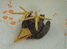 Мастер-класс Поделка изделие Плетение Сорока ворона Бумага Трубочки бумажные фото 17
