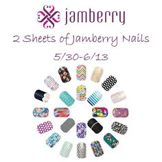 Jamberry Nails Giveaway {ends 6/13} | Dorky's Deals