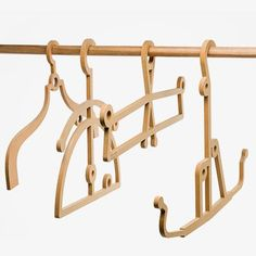 4-Pc. Hanger Set - by 157 + 173 designers #MONOQI