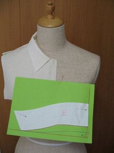 Shirt Collar Pattern, T Shirt Sewing Pattern, Neck Pattern, Sewing Basics, Sewing Hacks, Sewing Tutorials, Sewing Projects, Pattern Cutting, Pattern Making