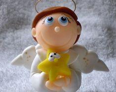 Anjinho com estrelinha pequenino  http://www.elo7.com.br/atelierclaudiaaparecida