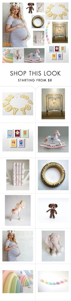 """""""New Baby On the Way ~ On Etsy"""" by brianna-anzalone ❤ liked on Polyvore"""