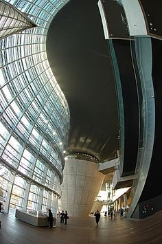 New National Art Center, Tokyo by Kisho Kurokawa, Japan